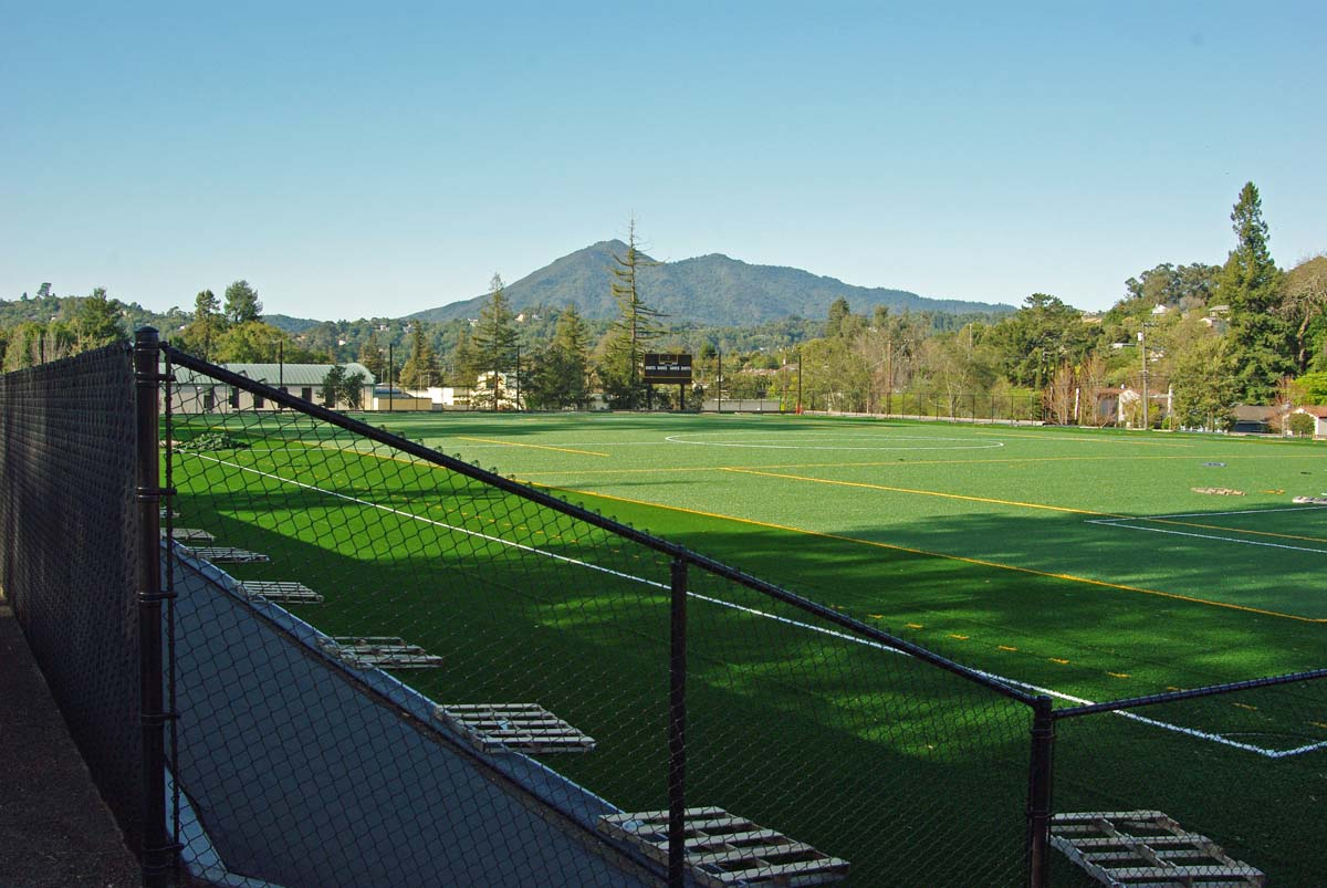 new soccer field